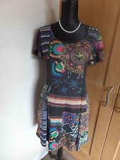 Desigual short sleeve Boho dress size 12