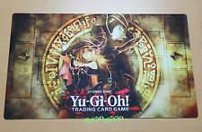 D563 Dark Magician & Girl Custom YUGIOH Playmat Pendulum Zones Free Mat Bag