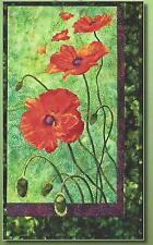 Poppies applique quilt pattern by Toni Whitney Design