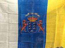 BANDERA COMUNIDAD DE CANARIAS 150x90cm - BANDERA CANARIAS 90 x 150 cm