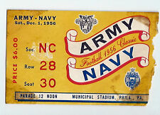 1956 Army Navy college football ticket stub
