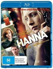 Hanna (Blu-ray, 2011)EX RENTAL NOTE DISC ONLY I CAN POST 4 DISCS FOR $1.40