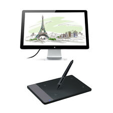 """Huion 420 4""""x2.23"""" Art Graphics Drawing Tablet With Pen for Windows Mac (Gift)"""