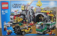 LEGO City 4204 mine-the mine avec toutes les figurines OVP instructions 100% complet