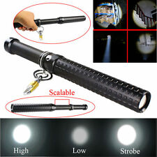 2000 Lumen CREE Q5 Tactical LED Baseball Stretchable Long Flashlight Torch Lamp