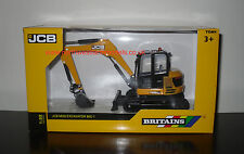 43013 Britains Farm JCB MIDI ESCAVATORI 86c-1 ** MIB ** SCALA 1/32