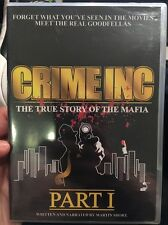 Super Rare Brand New Crime INC Part 1 True Story Of The Mafia DvD Sealed