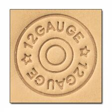 8664 Craftool 3-D Stamp Shotgun Shell Tandy Leather 8664-00