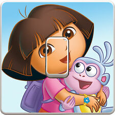 Dora The Explorer Light Switch Vinyl Sticker Decal for Kids Bedroom #186