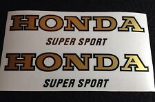 HONDA CB400 FOUR PARAKEET YELLOW TANK DECALS HONDA CB400 F2