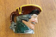 Vintage Royal Doulton DICK TURPIN Medium Toby Character Jug England A Mark #3