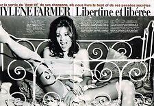 Coupure de Presse Clipping 2002 (6 pages) Mylène Farmer libertine et liberée