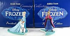 Disney Early Moments Elsa and Olaf & Anna President's Edition Ornaments Grolier