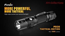 Fenix PD35 TAC Cree XP-L V5 LED Taschenlampe Flashlight 1000 Lumen Strobe + Batt
