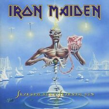 "IRON MAIDEN ""Seventh Son of A...."" CD Enhanced merce nuova!!!"
