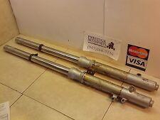 STRAIGHT FRONT FORKS! 92-97 kawasaki kx80 kx 80 kx100? suspension left right leg