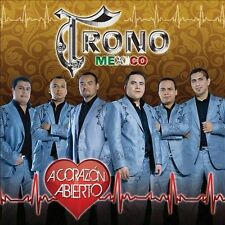 TRONO DE MEXICO,EL-A CORAZON ABIERTO CD NEW