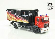 """090506 HERPA eXtra MAN M 2000 Abrollcontainer-LKW """"Jugendfeuerwehr Westerwald H0"""