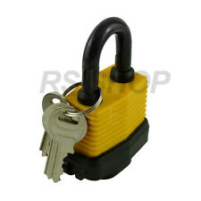50mm Outdoor Weather Proof Laminated Garage Shed Lock Steel Padlock With 3 Keys