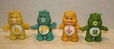 Kenner CARE BEARS Funshine Birthday Good Luck Wish Posable Figures VTG 80's LOT