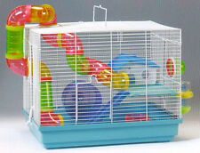 NEW 2 Levels Hamster Habitat Rodent Gerbil Mouse Mice Rats Animal Cage 582
