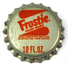 Frostie Root Beer Soda Tapa de Botella EE.UU. Soda botella Cap Sello de corcho