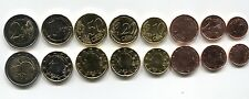 BELGIUM 1 2 5 10 20 50 CENTS 1 2 EURO 2011-2013 UNC FULL COIN SET OF 8