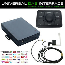 Universal Digital Car Radio DAB Interface Adaptor With Antenna For Cars & Vans