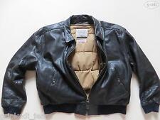 Levi's® Jacke Lederjacke, Gr. M, schwarz, Echtes Leder ! Harrington, gefüttert !
