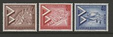 Germany Berlin 1957 International Building Exhibition SG B156-B158 MNH