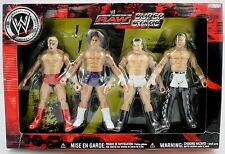 WWE RAW SUPERSTARS RIC FLAIR, CARLITO, CHRIS MASTERS, AND SHAWN MICHAELS FIGURES