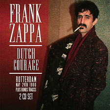 FRANK ZAPPA New 2017 UNRELEASED 1980 ROTTERDAM  & MORE LIVE CONCERT 2 CD SET