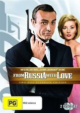 From Russia With Love [2 DVD Ultimate Edition Set], LIKE NEW, Region 4...4903
