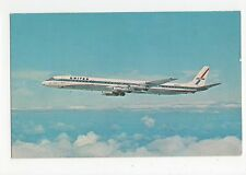 United Airlines Super DC-8 Aviation Postcard, A654