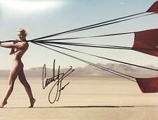 COURTNEY FORCE SIGNED FUNNY CAR DRAG RACE RACING SEXY NUDE 8X10 PHOTO RP WOW!!!!