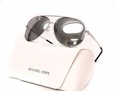 MICHAEL KORS MK 5016 10011U Kendall I Aviator Sunglasses Silver Mirror - NEW