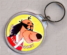HONG KONG PHOOEY round keyring - DOUBLE SIDED!