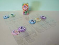 8 CARE BEARS Candy Boxes, Birthday, Party Favors