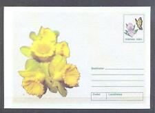 ROMANIA 2002, Butterflies, Flowers - 1 Envelope (22)