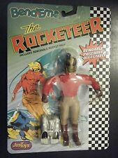 DISNEY JUSTOYS BENDABLE THE ROCKETEER FIGURE NEW SEALED