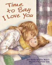 Time to Say I Love You, Clare Walters, Jane Kemp, Excellent Book