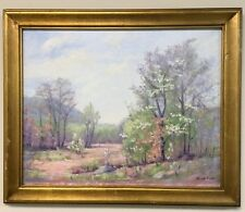 Kaye Pool Listed Brown County Indiana Artist Oil Painting Landscape