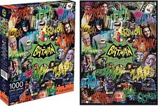 Batman 1960s TV Series Collage 1000 piece jigsaw puzzle  (nm)