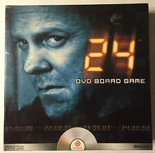 24 DVD Board Game Jack Bauer CTU Interactive Mystery Solving Game (B352)