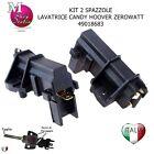 2 Spazzole Carboncini motore Lavatrice Candy Hoover Zerowatt 49018683 COMPATIBIL