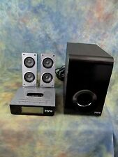 iHome Model iH52B Docking Station Sound System and Subwoofer with Remote