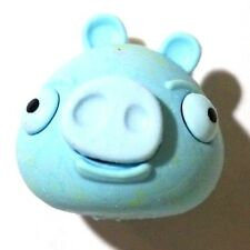 NEW! Angry Birds Space Frozen Minion Pig Blue Puzzle Eraser Figure! AWESOME! :)