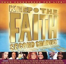 "NEW Keep the Faith by TOP Artists Second Chances ""Your Soundtrack For Life"" CD"