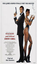 James Bond 007 Classical MOVIE - A View to a Kill  24x36 inch Poster