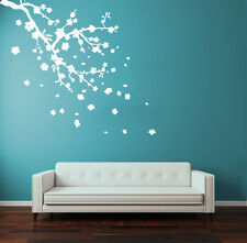 Wall Decal Vinyl Sticker Flower Blossom Sakura Cherry Branch  R1322